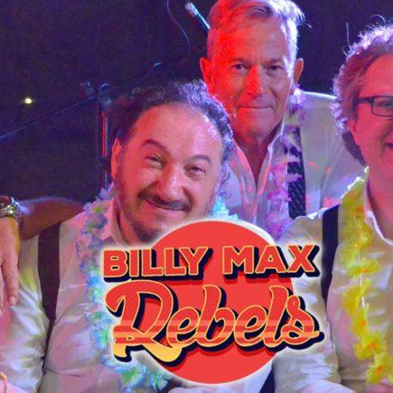 L'immagine ritrae il gruppo musicale Billy Max Rebels